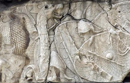 Castru Roman Drobeta este prima cetate construit de Imparatul Traian in Dacia romana