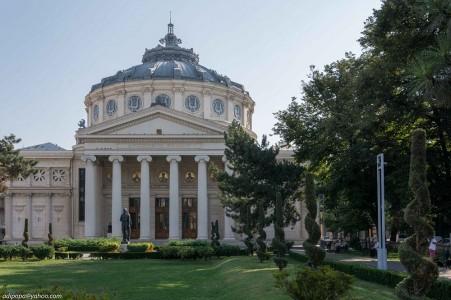 Ateneul Roman sala de concerte cu acustica perfecta 365romania.ro