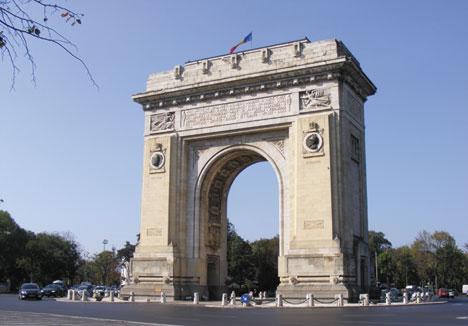 Arcul de Triumf obiectiv turistic Bucuresti | 365romania.ro